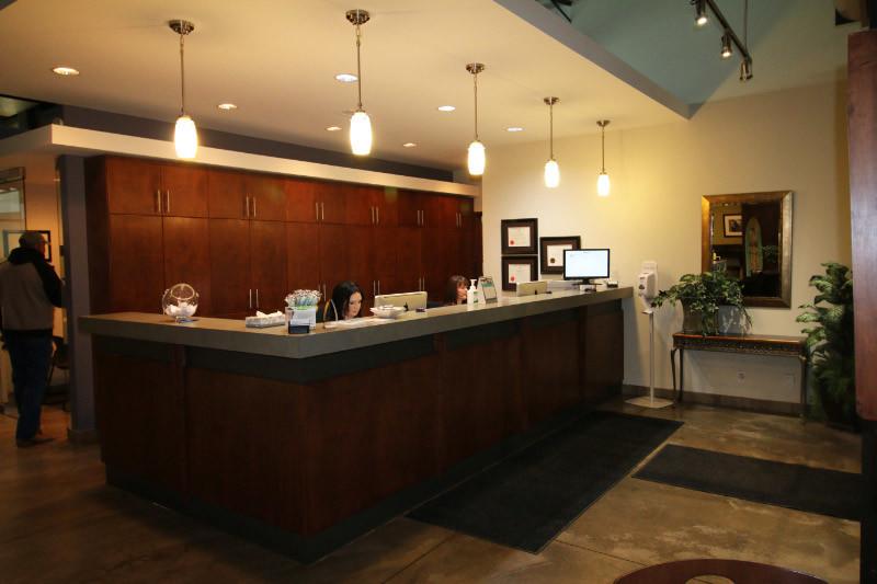 King & Knowlton Orthodontics Reception